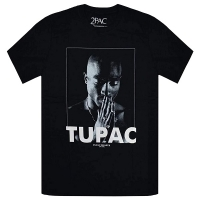 2PAC TUPAC Praying Tシャツ BLACK