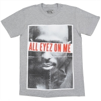 2PAC Tupac All Eyez On Me Tシャツ GREY