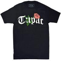 2PAC Tupac Rosy Logo Tシャツ