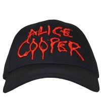 ALICE COOPER Dripping Logo ベースボールキャップ