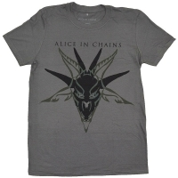 ALICE IN CHAINS Black Skull Tシャツ