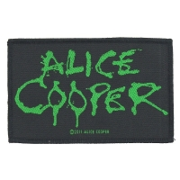 ALICE COOPER Logo Patch ワッペン