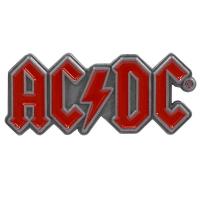 AC/DC Red Logo ピンバッジ