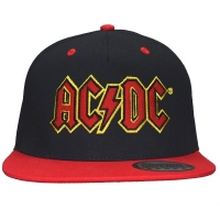 AC/DC Classic Logo スナップバックキャップ