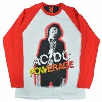 AC/DC POWERAGE ラグラン ロングスリーブ Tシャツ