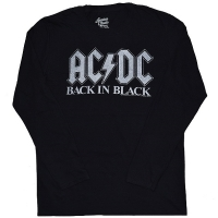 AC/DC Back In Black ロングスリーブ Tシャツ