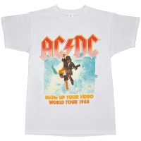 AC/DC Blow Up Your Video Tour Tシャツ WHITE
