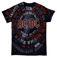 AC/DC Songs Tシャツ