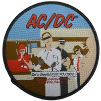 AC/DC Dirty Deeds Done Dirt Cheap ワッペン