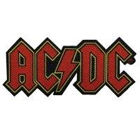 AC/DC Logo Cut-out Patch ワッペン