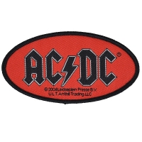 AC/DC Red Logo Patch ワッペン