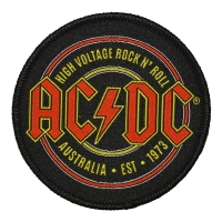 AC/DC High Voltage Rock 'N' Roll ワッペン