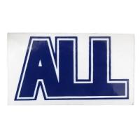 ALL Logo ステッカー BLUE