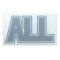 ALL Logo ステッカー GREY
