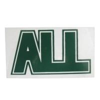 ALL Logo ステッカー GREEN