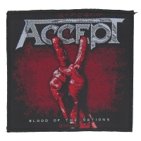 ACCEPT Blood Of Nations Patch ワッペン