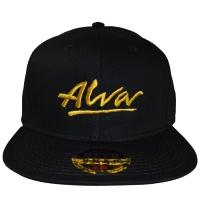 ALVA OG Logo スナップバックキャップ
