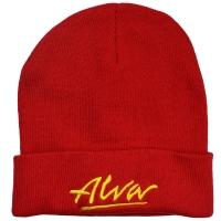 ALVA OG Logo ニット帽 RED