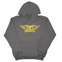 AEROSMITH Grey Wing プルオーバー パーカー