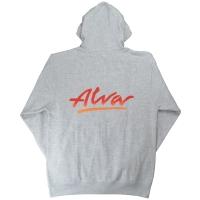 ALVA OG Logo ZIP フード パーカー GREY