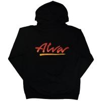 ALVA OG Logo ZIP フード パーカー BLACK