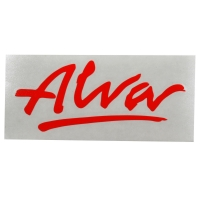 ALVA '77 OG Logo デカール ステッカー RED