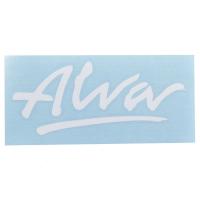 ALVA '77 OG Logo デカール ステッカー WHITE