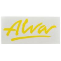 ALVA '77 OG Logo デカール ステッカー YELLOW