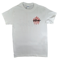 ALVA Scratch Logo Tシャツ WHITE