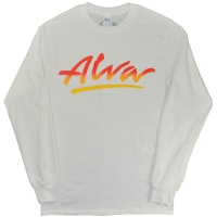 ALVA OG Logo ロングスリーブ Tシャツ WHITE