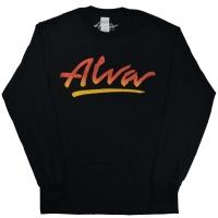 ALVA OG Logo ロングスリーブ Tシャツ BLACK