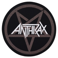 ANTHRAX Pentathrax バックパッチ