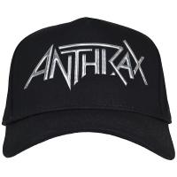 ANTHRAX Sonic Silver Logo スナップバックキャップ