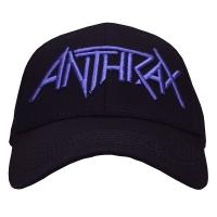 ANTHRAX Logo ベースボールキャップ