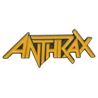 ANTHRAX Logo ピンバッジ
