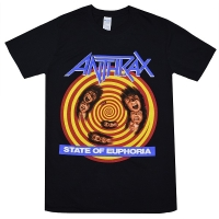 ANTHRAX State of Euphoria Tシャツ