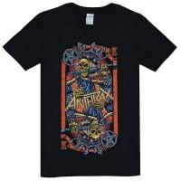 ANTHRAX Evil King World Tour 2018 Tシャツ