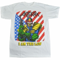 ANTHRAX I Am The Law Vintage Tシャツ
