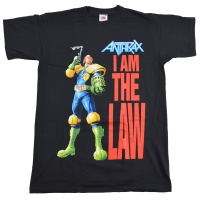 ANTHRAX I Am The Law Tシャツ