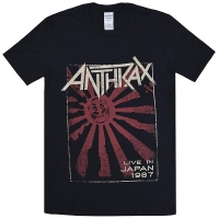 ANTHRAX Live In Japan Tシャツ