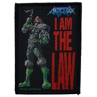 ANTHRAX I Am The Law Patch ワッペン