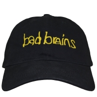 BAD BRAINS Yellow Logo DAD ベースボールキャップ