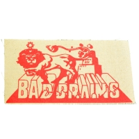 BAD BRAINS Rasta Lion 布パッチ PATCH