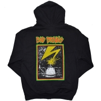 BAD BRAINS Front Logo & Capitol ZIP フード パーカー BLACK