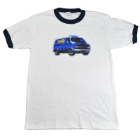 BEASTIE BOYS Van Art トリム Tシャツ
