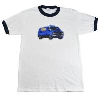 BEASTIE BOYS Van Art トリム Tシャツ