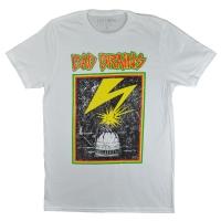 BAD BRAINS Distressed Capitol Tシャツ WHITE