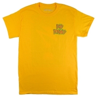 BAD BRAINS Front Logo & Capitol Tシャツ BRIGHT YELLOW