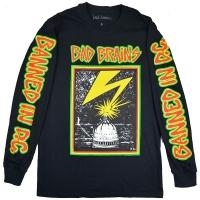 BAD BRAINS Capitol ロングスリーブ Tシャツ BLACK