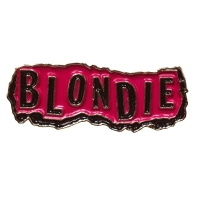 BLONDIE Punk Logo ピンバッジ